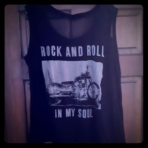 Torrid Rock and Roll tank size 3
